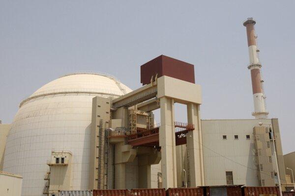 Reaktorová budova atómovej elektrárne v iránskom Búšehri (ilustračné foto).