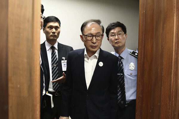 Bývalý juhokórejský prezident I Mjong-bak.