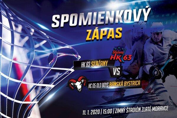 V Slažanoch sa uskutoční spomienkový hokejový zápas.