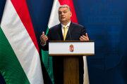 Maďarský premiér Viktor Orbán, ktorý je aj lídrom strany Fidesz.