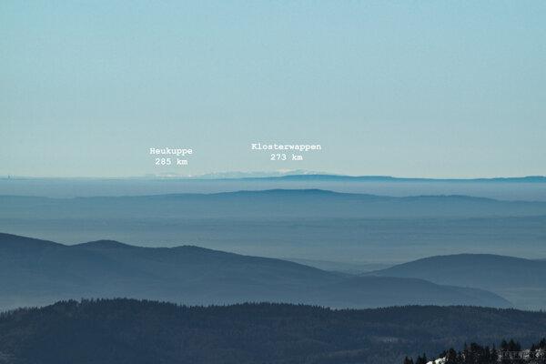 Z Ostredku bolo visieť Alpy.