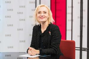 Katarína Diková Strýčková v relácii Rozhovory ZKH.