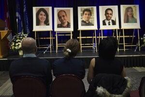 Kanadská Windskorská univerzita si uctila piatich študentov, ktorí v lietadle zomreli.