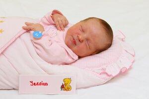 Jessica Sýkorová z Valaskej Belej sa narodila 5.1. v Bojniciach