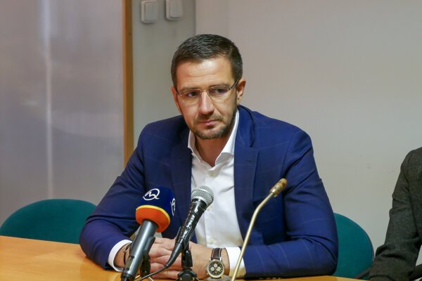 Predseda Slovenskej poľnohospodárskej a potravinárskej komory (SPPK) Emil Macho.