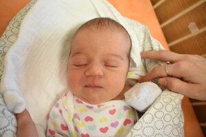 Elisa Maggioreová (3470 g, 50 cm) sa narodila 6. januára Dominike a Alfonsovi z Trenčianskych Stankoviec.