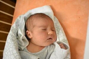 Nina Petríková (3330 g, 49 cm) sa narodila 6. januára Martine a Róbertovi z Dubodiela.
