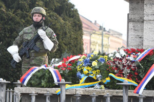 Pietnym aktom si Prešovčania pripomenuli udalosti druhej svetovej vojny.