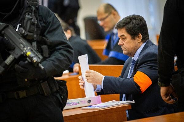 Obžalovaný Marian Kočner.