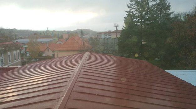 Nová strecha.