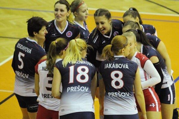 Prešovčanky získali v Trnave jeden bod.