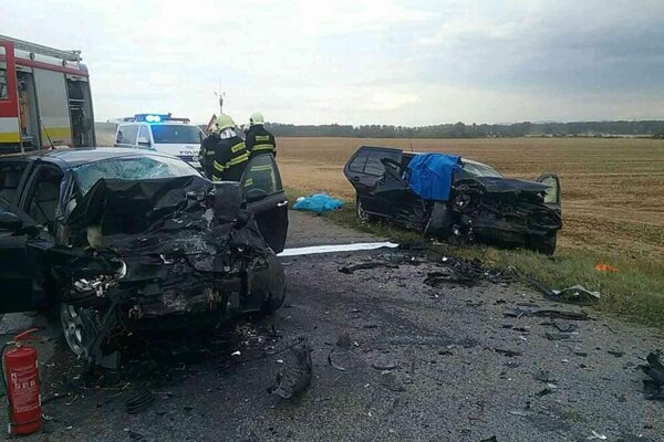 Nehoda pri Turni nad Bodvou.