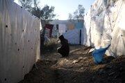 Tábory v Grécku sú preplnené.