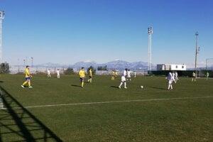 Michalovskí futbalisti v prvom zápase v Turecku remizovali s azerbajdžanským FK Kesla 1:1.