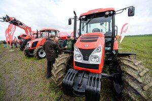 Traktor značky Zetor