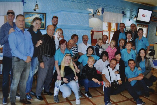 Delegácia z Veličnej v Srbsku.
