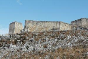 Spišský hrad od Spišského Podhradia.