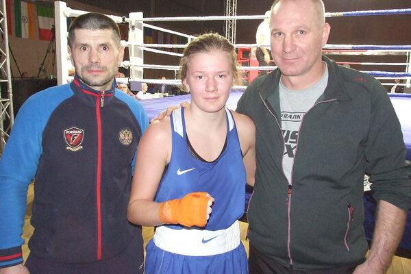 Jessica Triebeľová sa v januári predstavila na medzinárodnom turnaji v Srbsku.