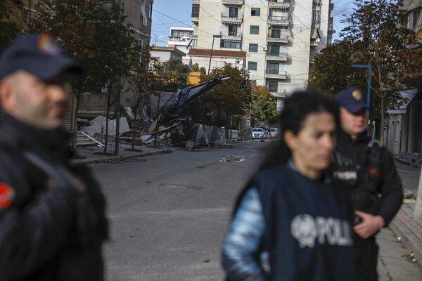 Zemetrasenie s magnitúdou 6,4 zasiahlo oblasť severovýchodne od Tirany aj 26. novembra 2019.