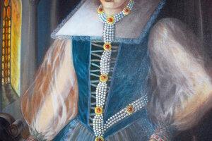 Krvavá grófka Alžbeta Bátoriová na obraze Novomešťana Mira Ďuržu