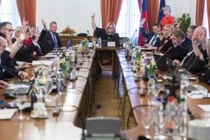 Zasadnutie Súdnej rady.