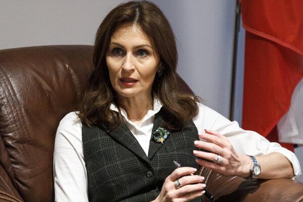 Bývalá ministerka zdravotníctva SR Andrea Kalavská.