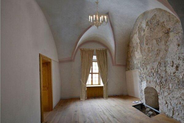 Lovecký salón paláca Lubomirských.