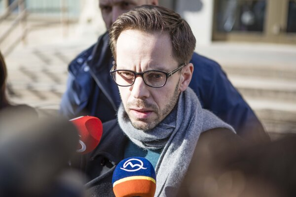 Člen predsedníctva hnutia Progresívne Slovensko Pavel Sibyla.