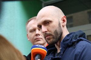 Predseda strany SPOLU Miroslav Beblavý a predseda hnutia Progresívne Slovensko (PS) Michal Truban.