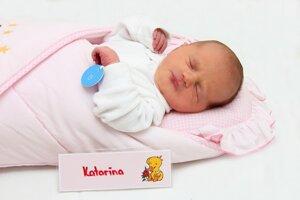 Katarína Mišovicová z Nitrianskeho Rudna sa narodila 24.1. v Bojniciach