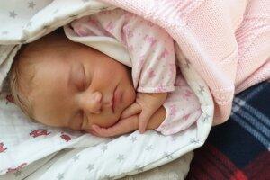 Mellany Pernišová z Prievidze sa narodila 14.1.2020 v Bojniciach