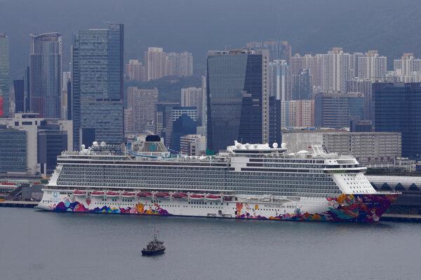 Výletná loď dorazila do Hongkongu v stredu ráno.
