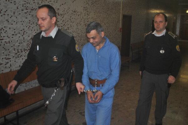 Andrej Zajac na krajskom súde.