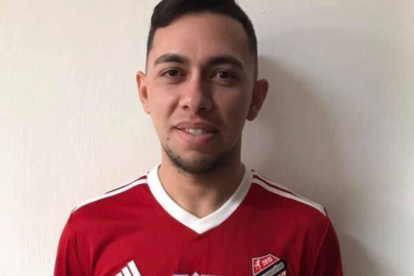 Nový hráč Lučenca Jose Wellington Matias Torres.