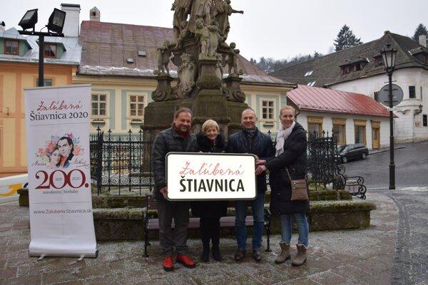 Dnes odštartovali projekt Zaľúbená Štiavnica.