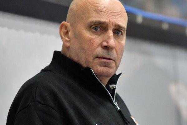Tréner HK Dukla Ingema Michalovce Miroslav Chudý.