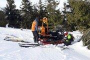 Horskí záchranári pomohli včera 65-ročnému turistovi.