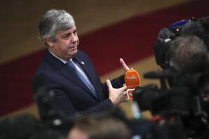 Mario Centeno, minister financií eurozóny.