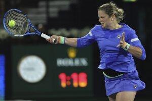 Kim Clijstersová sa vrátila do súťažného diania po vyše siedmich rokoch.