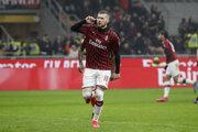 Ante Rebič po strelenom góle.
