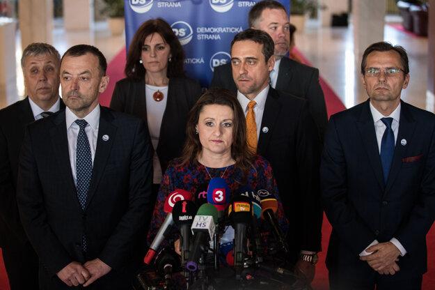 Natália Blahová a jej kolegovia.