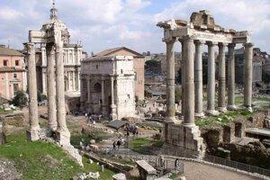 Rímske fórum.