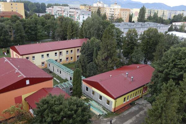Materská škola na Podtatranskej ulici v Poprade.