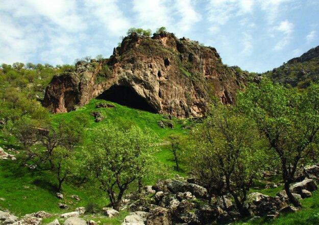 Jaskyňa Šanidar, v ktorej našli pozostatky.