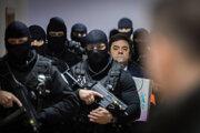 Marian Kočner počas hlavného pojednávania vo veci vraždy novinára Jána Kuciaka a jeho snúbenice Martiny Kušnírovej na Špecializovanom trestnom súde v Pezinku.