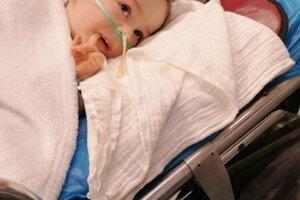 Keď Riško dostal ďalší zápal pľúc, zmohol ho tak, že prestal prehĺtať.