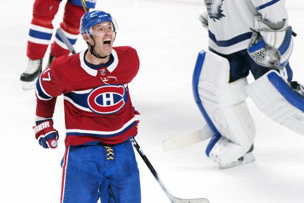 Iľja Kovaľčuk v drese Montreal Canadiens.
