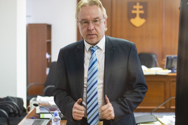 Prokurátor Ján Šanta.