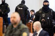 Marian Kočner a Pavol Rusko na súde.