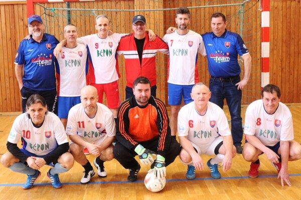 Víťazi 9. ročníka ligy päťdesiatnikov - Euroteam